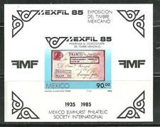 MEXICO 1385 MNH S/S MEXFIL 85