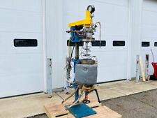 10 Liter Fluitron Reactor With Agitation 316 Stainless Steel