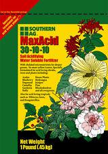 MaxAcid Acid Fertilizer 30-10-10 Azalea,Blueberry,Dogwood,Holly,Ixora 1 POUND