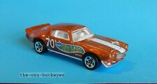 2012 Hot Wheels Loose '70 70 Camaro Road Race Orange Kroger Super Speeders