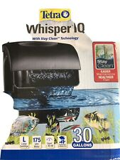 Tetra Whisper IQ Power Filter - 30 Gallons Open Box
