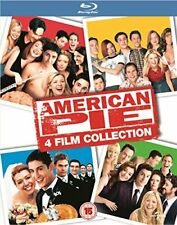 AMERICAN PIE Collection - 4 Movies Films Blu-ray Region Free UK import *NEW*