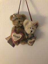 "Boyd's Bears Hanging Ornament ""Bestest Friends�"