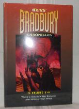 RAY BRADBURY CHRONICLES 5 ALIEN TERROR First ed HC! DJ Graphic Art Stories Comic