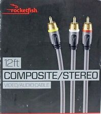 Rocketfish 12 Ft.  Composite / Stereo A / V  Cable RF-G1203
