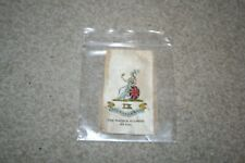 The Norfolk Regiment 9th Foot - Cigarette packet Silk Badge by Godfrey Phillips