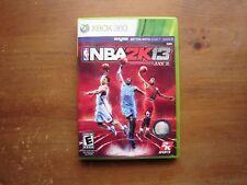 NBA 2K13 (Microsoft Xbox 360, 2012) *COMPLETE*
