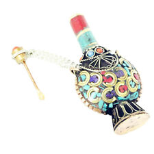 1x Vintage Tibetan Snuff Bottles Nepal Handicraft Pendant Craft Decoration A