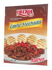 Iberia Carne Mechada Seasoning - 12 Packet Box | Shredded Beef Seasoning
