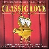 Classic Love at the Movies, Various Artists, Audio CD, Acceptable, FREE & FAST D