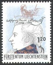 Liechtenstein 2006 Mozart/Music/Composers/Entertainment/Opera/People 1v (n42311)