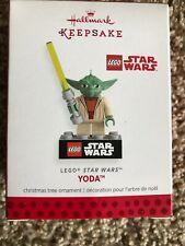 Yoda Hallmark Ornament Lego Star Wars 2013