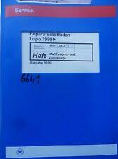 Werkstattbuch Reparaturleitfaden VW Lupo 4 AV Einspritz-und Zündanlage #6641