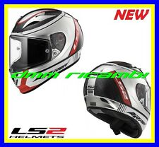 New 2018 Casco Integrale fibra LS2 FF323 ARROW C EVO INDY Carbonio Cromato Tg.L