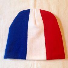 Bonnet France / Français / Drapeau / 22 cm X 20 cm