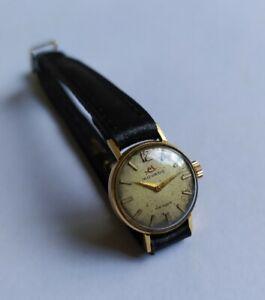Montre Mécanique MOVADO OR 18K.Vintage watch. Uhr. GOLD