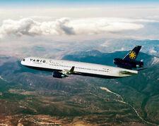VARIG MCDONNELL DOUGLAS MD-11 JET AIRLINER  16x20 SILVER HALIDE PHOTO PRINT