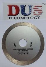"Continuous Diamond circular disc Saw Blade 110mm(4 1/4"") x 10 x 20mm &5/8"" arbor"