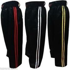 Adulto Kick Boxing Pantalones Niños Marcial Art Taekwondo Polialgodón Raso Venta