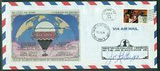 Us 1984 First solo Balloon Across Atlantic cover Rosie O'Grady's Balloon w/skin