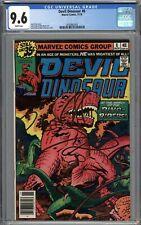 Devil Dinosaur #8 CGC 9.6 NM+ WHITE PAGES