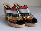 Sergio Todzi Womens Cork Heels - Size EU 38.5