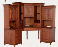 Custom Built | NEW | Solid Wood | Fully Customizable | USA Made | Corner Desk