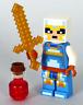 LEGO Minecraft - Skull Arena Player 2 Minifigure Sword Healing Potion 21145 NEW