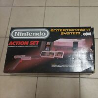 Vintage 1988 Nintendo NES Action Set - Box ONLY