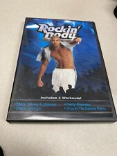 Shaun T's Rockin' Body DVD Workout (DVD, 2008) 4 Work Outs Beachbody Exercise