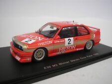 BMW M3 E30 #2 COURSE DE GUIA DE MACAO 1988 A. HEGER 1/43 SPARK SA035 NEUF