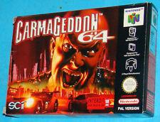 Carmageddon 64 - Nintendo 64 N64 - PAL