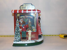 Christmas Toy Shop Store Santa Train Dollhouse Miniature  Xmas Room Box Boy Girl