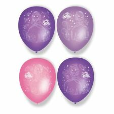 "Sofia The First 11"" Ballons En Latex 6pk - Fête Anniversaire Princesse Disney"