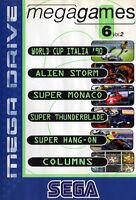 ## SEGA Mega Drive - Mega Games 6-2 inkl. Alien Storm (nur Modul, ohne OVP) ##