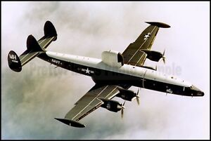 USN Lockheed WC-121 Warning Star/Constellation VW-4 143198 8x12 Aircraft Photos