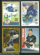 J.P. ARENCIBIA Signed/Autographed 2011 BOWMAN TOTC CARD Blue Jays jp w/COA