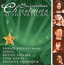 FREE US SHIP. on ANY 3+ CDs! USED,MINT CD : Superstar Christmas at the Vatican C