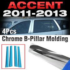 Chrome PVC B Pillar Garnish Molding Trim A150 For HYUNDAI 2011-2016 Accent Verna