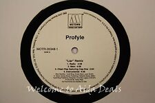 "Profyle,"" liar "" Remix (VG) LP 12"""
