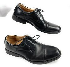 Clarks Waterproof Cap Toe Derby Oxford Lace Up Shoes Black Leather Men's 9M