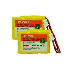 2PC Cordless Phone Battery Replacement NICD 2/3AA 400mAh 3.6V for VTech BT-17333