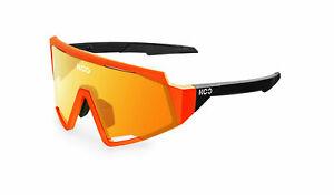 KOO Cycling Sunglasses- SPECTRO-Orange Fluo