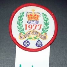 Boy Scout/girl Guide Badge 1977 The Queen's Silver Jubilee
