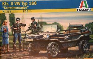 """""""Schwimmwagen"""" Kfz. II Typ 166 - art. 313 - Italeri scala 1/35"""