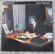 Vinyl-LP Randy Newman -Born Again / Signiert / Autogramm auf Back-Cover