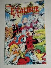 Marvel X-Men EXCALIBUR The Sword is Drawn Claremont & Davis TPB Trade Paperback