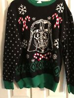 Star Wars Darth Vader Unisex?  Ugly Christmas Sweater Size XL