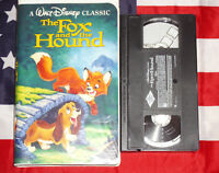 The Fox and the Hound VHS Walt Disney Video Rare Classic Clamshell Case Tape