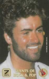 Telefoonkaart / Phonecard ongebruikt prepaid - George Michael (R18)